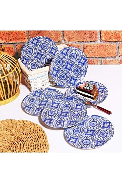 NATUREL 501 Blue 21 Cm Pasta Tabağı