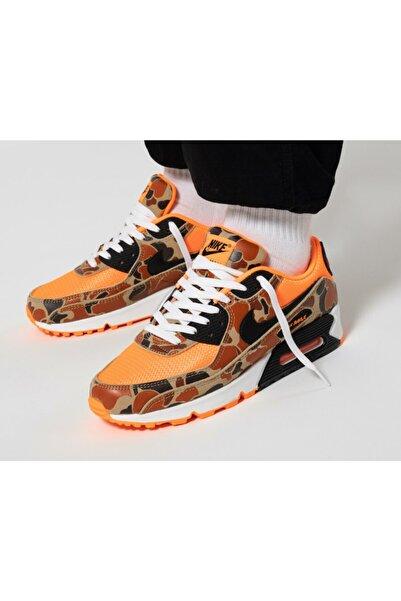 Nike Nıke Air Max 90 Sp Neon Turuncu Erkek Günlük Ayakkabı  Cw4039 800