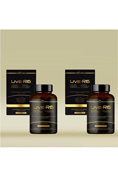 Renew Live-r6 30kapsül Karaciğer Desteği Deve Dikeni,karahindiba,enginar,alpha Lipoic Acid,kolin,glutatyon
