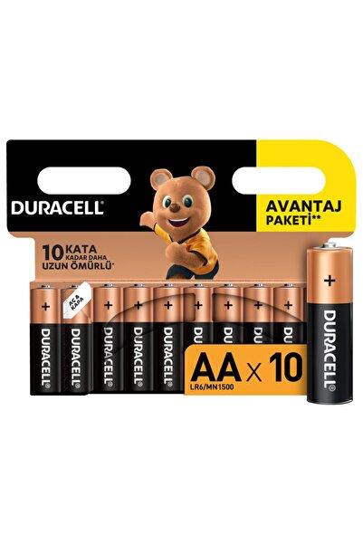 Duracell Alkalin Aa Kalem Piller 10'lu Paket