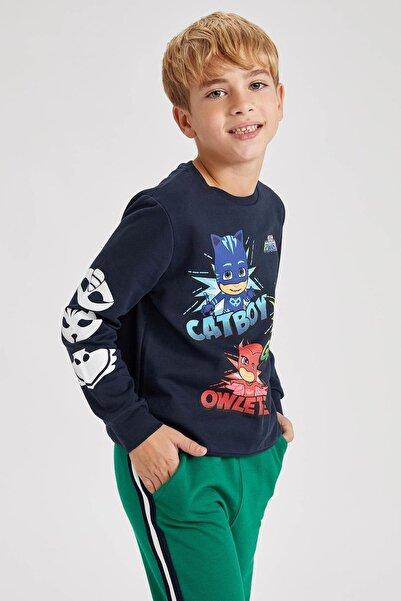 DeFacto Erkek Çocuk Pj Masks Lisanslı Sweatshirt
