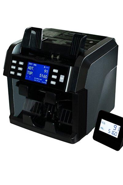 HTM Atom 7 İki Katlı Karışık Para Sayma Makinesi Printerli Dahili Termal Yazıcı