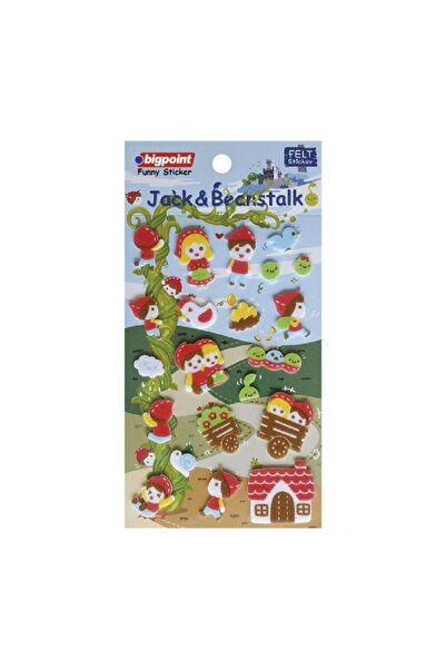 Bigpoint Sticker Jack Ve Fasulye Sırığı 15'li Paket