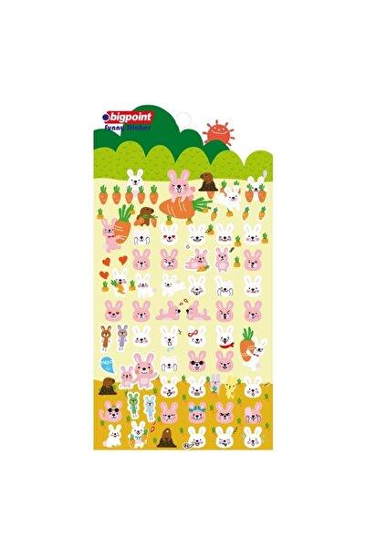 Bigpoint Sticker Sevimli Tavşanlar 15'li Paket