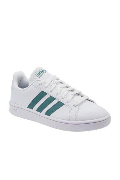 adidas Grand Court Base Erkek Beyaz Spor Ayakkabı (EE7905)
