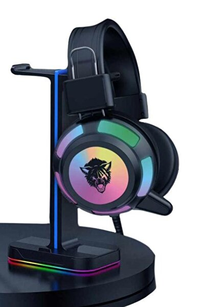 Dynego V8 Mikrofonlu Gaming Oyuncu Kulaklığı Yeni Rgb Led Işıklı Kulaklık