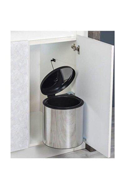 STARAX Paslanmaz Çelik 10 Litre Dolap İçi Çöp Kovası S 2251 Ss