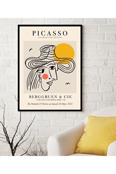 TMCdecoration Picasso Çerçeveli Baskı Poster No.4 (50x70cm)