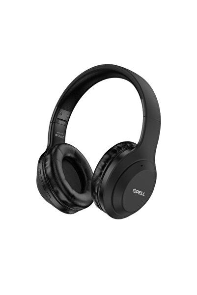 Pell Bl-be1 Süper Kalite Kulak Üstü 5.0 Bluetooth Kulaklık Siyah