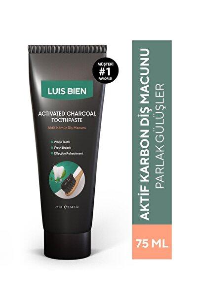 Luis Bien Aktif Karbon Diş Beyazlatma Macunu 75 ml 8681967480016