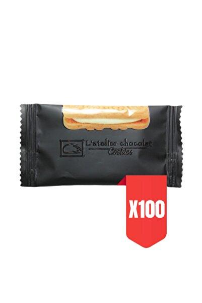 L'atelier Chocolat Cookies Kremalı Bisküvi 100x9,5 Gr