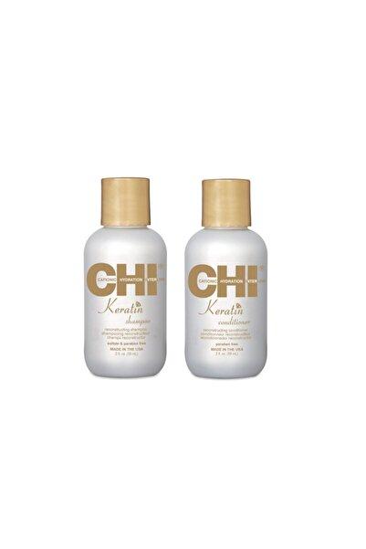 Chi Keratin Saç Bakım Seti(şampuan 59ml,saç Kremi 59ml)