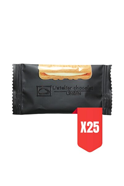 L'atelier Chocolat Cookies Kremalı Bisküvi 25x9,5 Gr