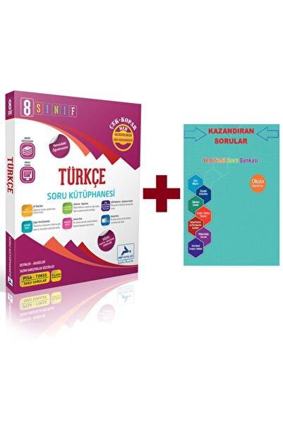 paraf yayınları Prf 8. Sınıf Türkçe Soru Kütüphanesi + Soru Bankası Ilave