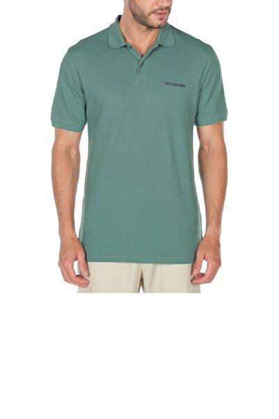 Columbia Erkek Yeşil Polo Yaka T-shirt