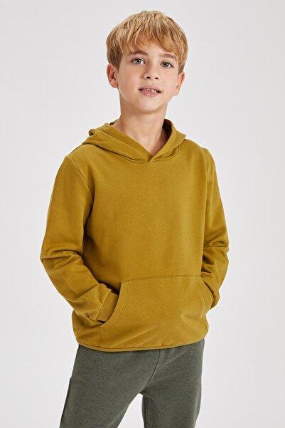 DeFacto Erkek Çocuk Basic Sweatshirt