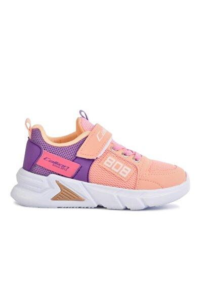Callion 099 Somon-lila Kız Çocuk Bantlı Spor Ayakkabı