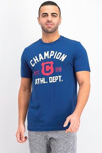 Champion Tshirt Easyfit Brand Logo Lacivert