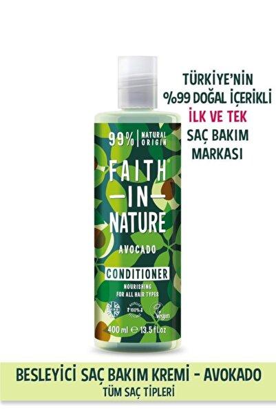 Faith In Nature %99 Doğal Besleyici Saç Bakım Krem Avokado Tüm Saç Tipleri İçin