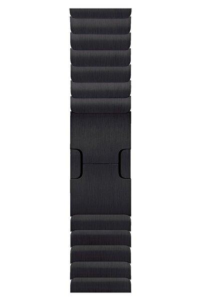 Apple Watch 2 3 4 5 6 Se Nike 42mm 44mm Uyumlu Kordon Kayış Bileklik Bilezik Loop Baklalı Metal Band