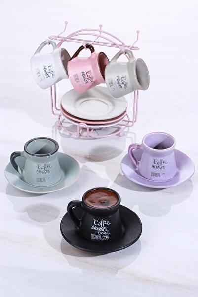 ACAR Idea 6lı Seramik Kahve Fincan Takımı