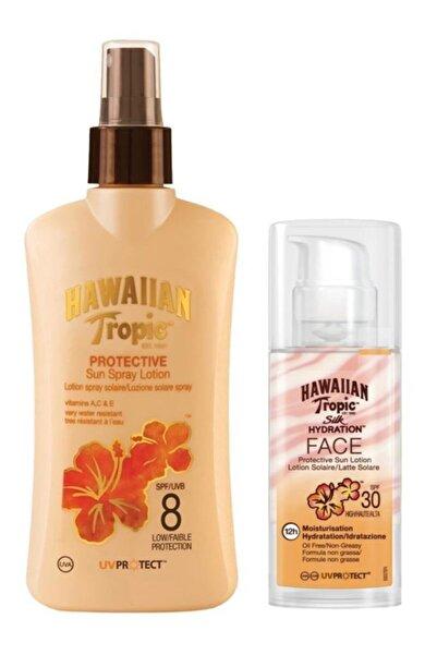 Hawaiian Tropic Güneş Korucu Yüz Ve Vücut Bakım Seti