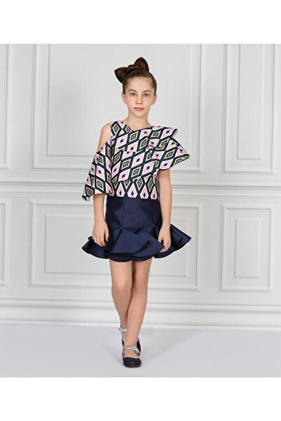 GOOSE -kız Çocuk-g21y52719 Robası Volanlı Bluz