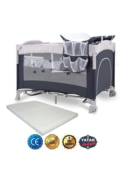 Kraft Fresh Anne Yanı Oyun Parkı 70*110 Cm + Yatak Hediyeli