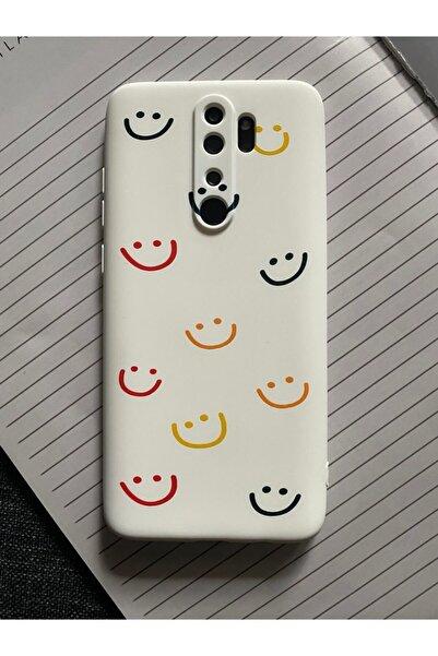 Mislina Xiaomi Note 8 Pro Uyumlu Smile Desenli Baskılı Lansman Koruyucu Kapak Kılıf