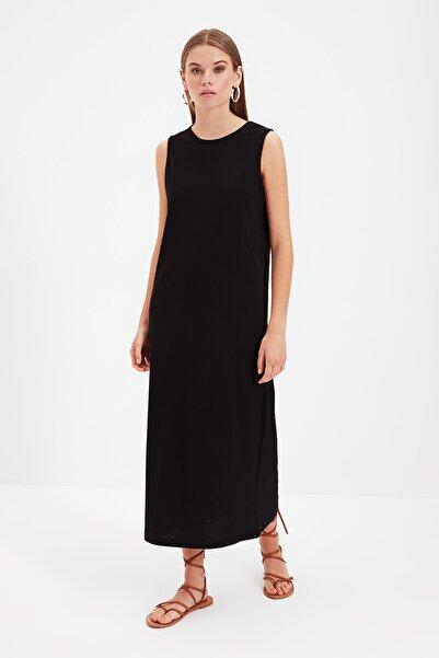 Trendyol Modest Siyah Kolsuz Elbise Astarı TCTSS21UK0034