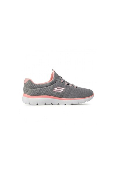 SKECHERS 12980-gypk Gri Kadın Spor Ayakkabı