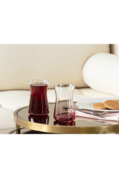 Madame Coco Esperanza Pink Touch 6'lı Çay Bardağı Seti 170 Ml