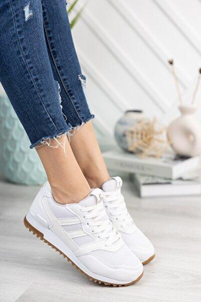 Riccon Beyaz Unisex Sneaker 0012863