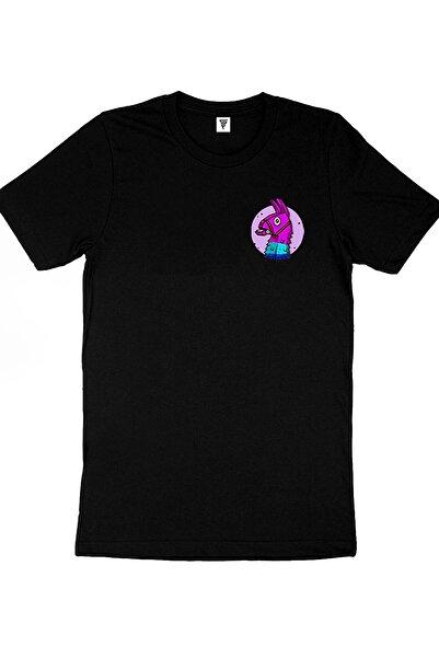 Fortnite Fortnıte Lama Baskılı Gamer Tişört