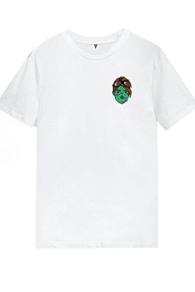 Fortnite Fortnıte Ghoul Trooper Baskılı Gamer Tişört