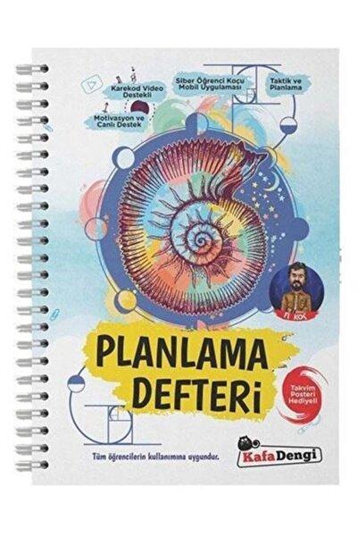 Kafa Dengi Yayınları Fi Planlama Defteri