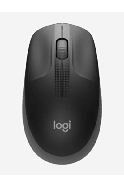 logitech Gri Büyük Boy Kablosuz Mouse Optik 1000 Dpı Buton 910-005905 M190