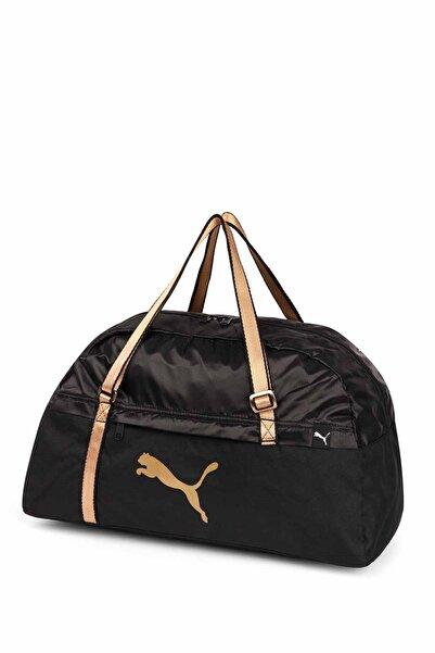 Puma Core Active Sportsbag M Ep Black-gold