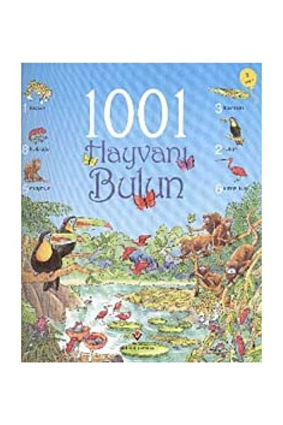 Tübitak Yayınları 1001 Hayvanı Bulun - Ruth Brocklehurst