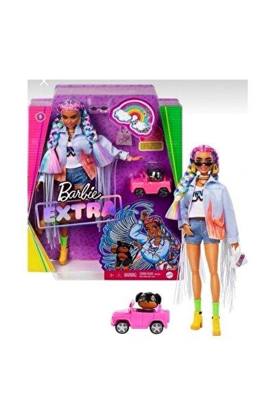 Barbie Extra Renkli Örgü Saçlı Bebek GRN29