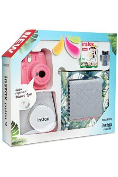 Fujifilm Instax Mini 9 Kit Pembe