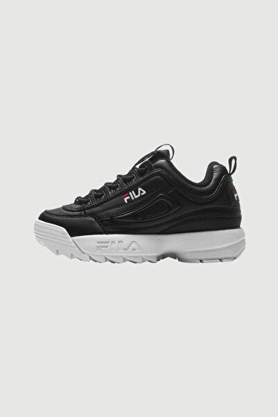 Fila Kadın Siyah Disruptor Low Sneaker Spor Ayakkabı