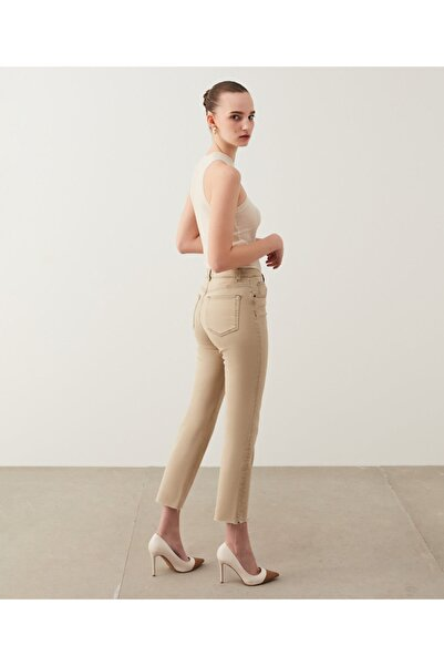 İpekyol Cropped Straight Fit Jean Pantolon