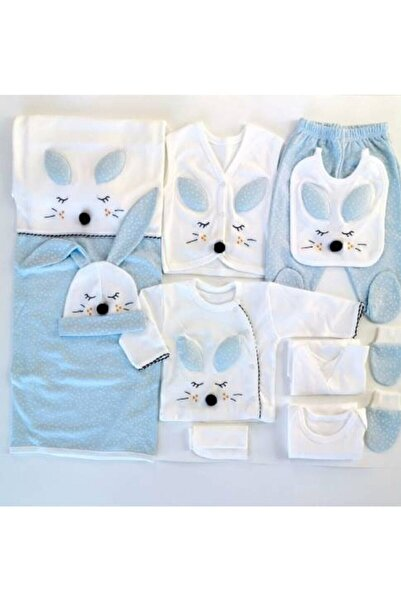 Gaye Bebe Gaye Mavi Tavşanlı 10'lu Yeni Doğan Hastane Çıkışı 100663