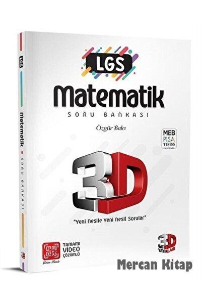 3D Yayınları 8. Sınıf Lgs Matematik Soru Bankası 2021-2022