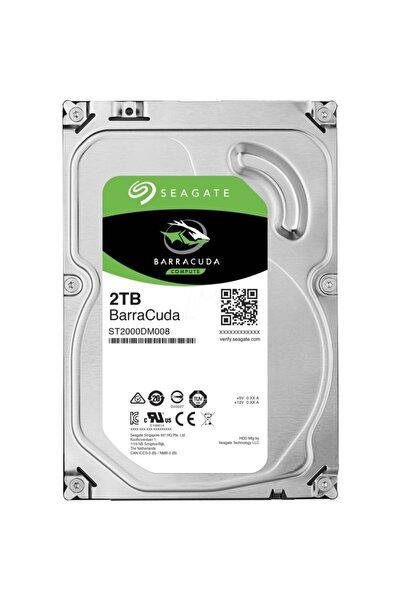Seagate 3.5 2tb 7200 Rpm 256mb Sata3 Pc Hdd St2000dm008