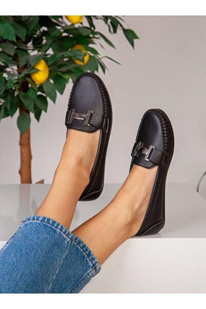 ayakkabıhavuzu Kadın Siyah Günlük Ayakkabı