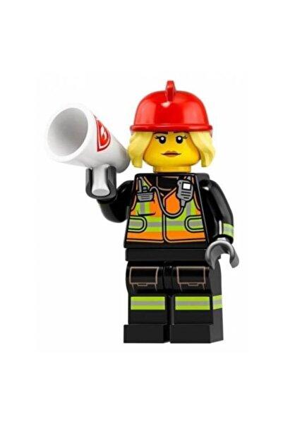 LEGO Minifigures Seri 19 Mini Figür 71025 Fire Fighter