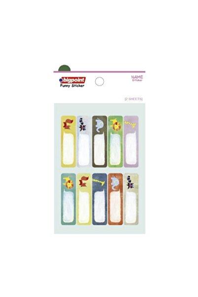 Bigpoint Sticker School Hayvanlar 2 Yaprak 15'li Paket