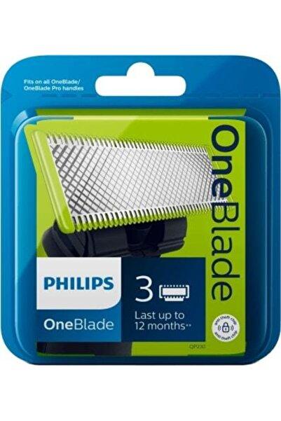 Philips Qp220/50 Oneblade 3'lü Yedek Bıçak